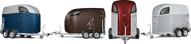 Sporty and Spacious Horse Trailers